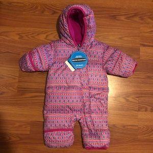 ✨❄️NWT❄️✨ 0-3 mos Columbia snow suit